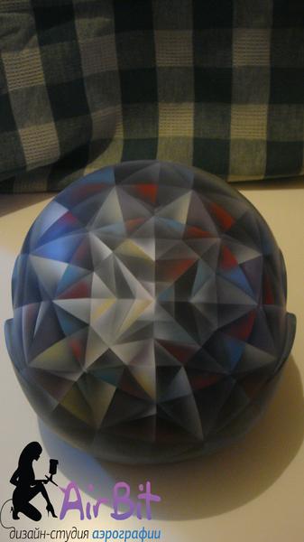 Кристаллический шлем