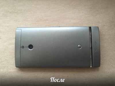 Матовая покраска телефона